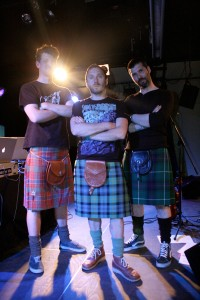 the lads from the Big Fat Electric Ceilidh