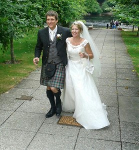 A Dunkeld wedding
