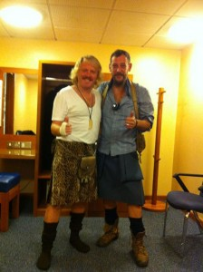 Keith Lemon and Howie